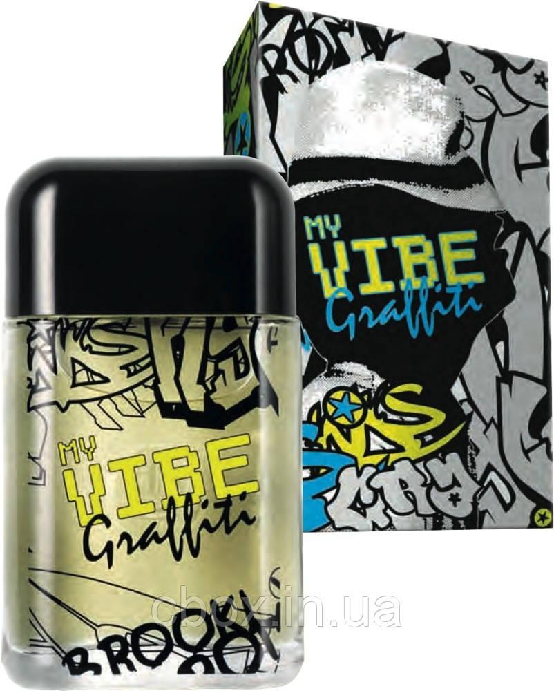 My Vibe Graffiti Avon туалетна вода чоловіча 50 мл, Ейвон