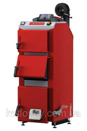 Твердотопливный котёл длительного горения Defro Optima Komfort Plus (Дефро Оптима Комфорт Плюс) 10 кВт, Длительного горения, фото 2