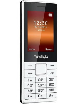 Мобильный телефон Prestigio 1241 DS White, фото 2
