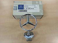 Эмблема Звезда Mercedes W212 Значек Оригинал Новый Герб прицел