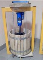 Пресс для сока 25л, давление 6 тон, гидравлический. Для яблок, винограда, сыра и тд.