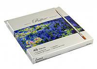 """Карандаши цветные 48 цветов МАРКО 7100-48СВ """"Raffine"""" (картон. коробка)"""