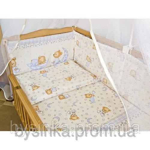 """Детское постельное белье из 3-х ед - """"Мишка на подушке"""""""