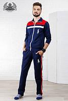 """спортивный костюм """" Polo """" Ткань : турецкая двух нитка высокого качества штаны прямые роле №1046"""