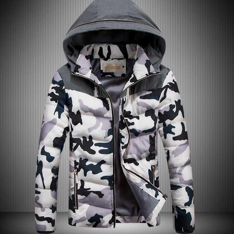 cd09138f Мужская зимняя куртка камуфляж. Модель 733 - купить Украина ...
