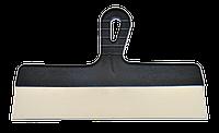 Шпатель нержавеющий 350мм фасадный с пластмассовой ручкой FAVORIT, фото 1