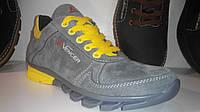 Детские кроссовки Vencer (36-39) серо желтые