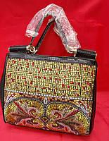 Красивая женская сумка с камнями