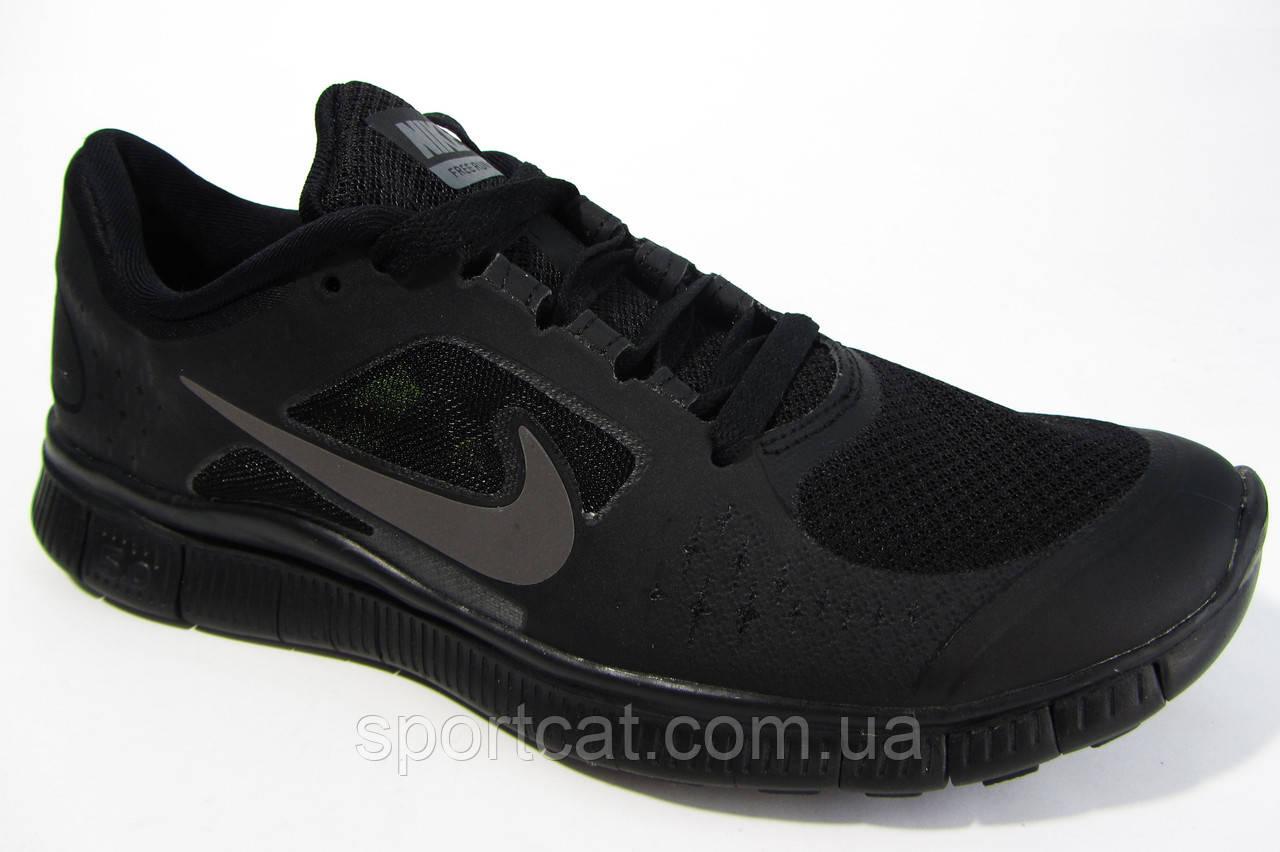 28992b81 Мужские беговые кроссовки NIKE Free Run 5.0, чёрные Р. 41 42 45 от ...