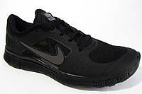 Мужские беговые кроссовки NIKE Free Run  5.0, черные , Р. 41 42 45