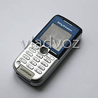 Корпус k300i sony ericsson синий клавиатура AAA