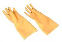 Перчатки резиновые диэлектрические безшовные