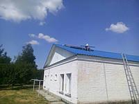 Установка солнечных коллекторов Альтек в пгт. Пришиб (Запорожской области)