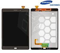 """Дисплейный модуль (дисплей + сенсор) для Samsung Galaxy Tab A 9.7"""" T550 / T555, золотистый, оригинал"""