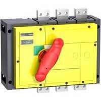 Schneider Electric : ВИМИКАЧ-РОЗ'ЄДН.З Ч/Ж.РУК-КОЮ INS1000 3P (Артикул: 31346)