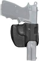 Кобура Front Line поясная компактная, кожа, для Glock 19, 23, 32 ц:черный