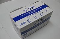 Перчатки латексные нестерильные смотровые неопудренные / размер 8,0 / Vogt Medical