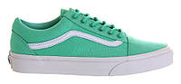 """Кеды Vans Old Skool """"Biscay Green - White"""" - """"Зеленые Белые"""" (Копия ААА+), фото 1"""