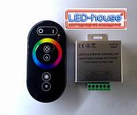 RGB Контроллер с радио управлением 18А (сенсорный пульт), фото 1