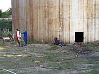 Очистка бетонных поверхностей , фасадов , других поверхностей от сильных загрязнений ( мазут, углеводороды, би