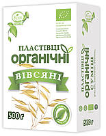 Хлопья Овсяное резанные Органическое 0,5 кг ТМ Козуб Продукт 904763