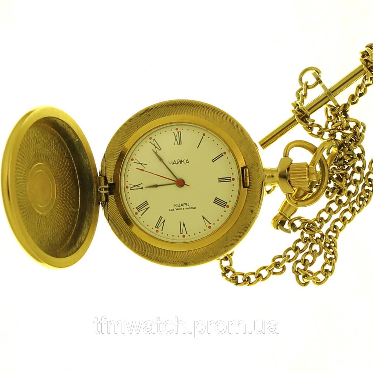 Чайка кварц карманные часы Россия