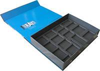 Коробки из картона с ложементом для деталей, профилей, инструментов, различных наборов