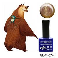 """Гель-лак цветной """"Медведь гризли"""""""