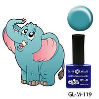 """Профессиональный гель-лак """"Голубой слоненок"""""""