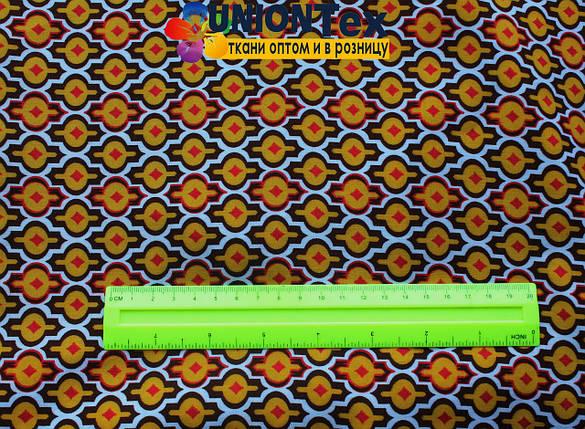 Штапель полированный принт, фото 2