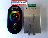 RGB Контролер з радіо управлінням 24А (сенсорний пульт), фото 1