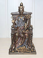 Статуэтка Фортуна на троне Veronese 27 см 72737 V4, символ удачи