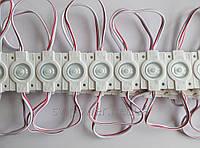 Светодиодный кластерный модуль Премиум класс, мощный кластер 1LED 2835  1.44 вт
