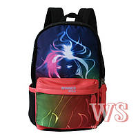 Рюкзак школьный для девочки (терракотовый, салатовый, сиреневый, розовый), фото 1