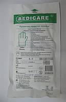 Перчаткики латексные стерильные хирургические / размер 6 / Medicare
