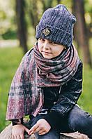 Детская шапка (набор) СИДНЕЙ для мальчиков оптом размер 50-52-54