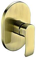 Смеситель скрытого монтажа KAISER Aurora 67177-1 Bronze