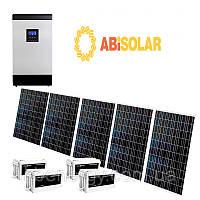 """Автономная (резервная) станция """"Abi Solar"""" PWM, 5 кВ*А (255 кВт*ч/мес)"""