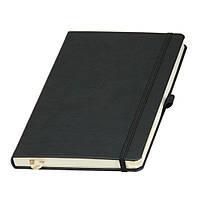 Записная книжка А5 на резинці матова обкладинка, фото 1