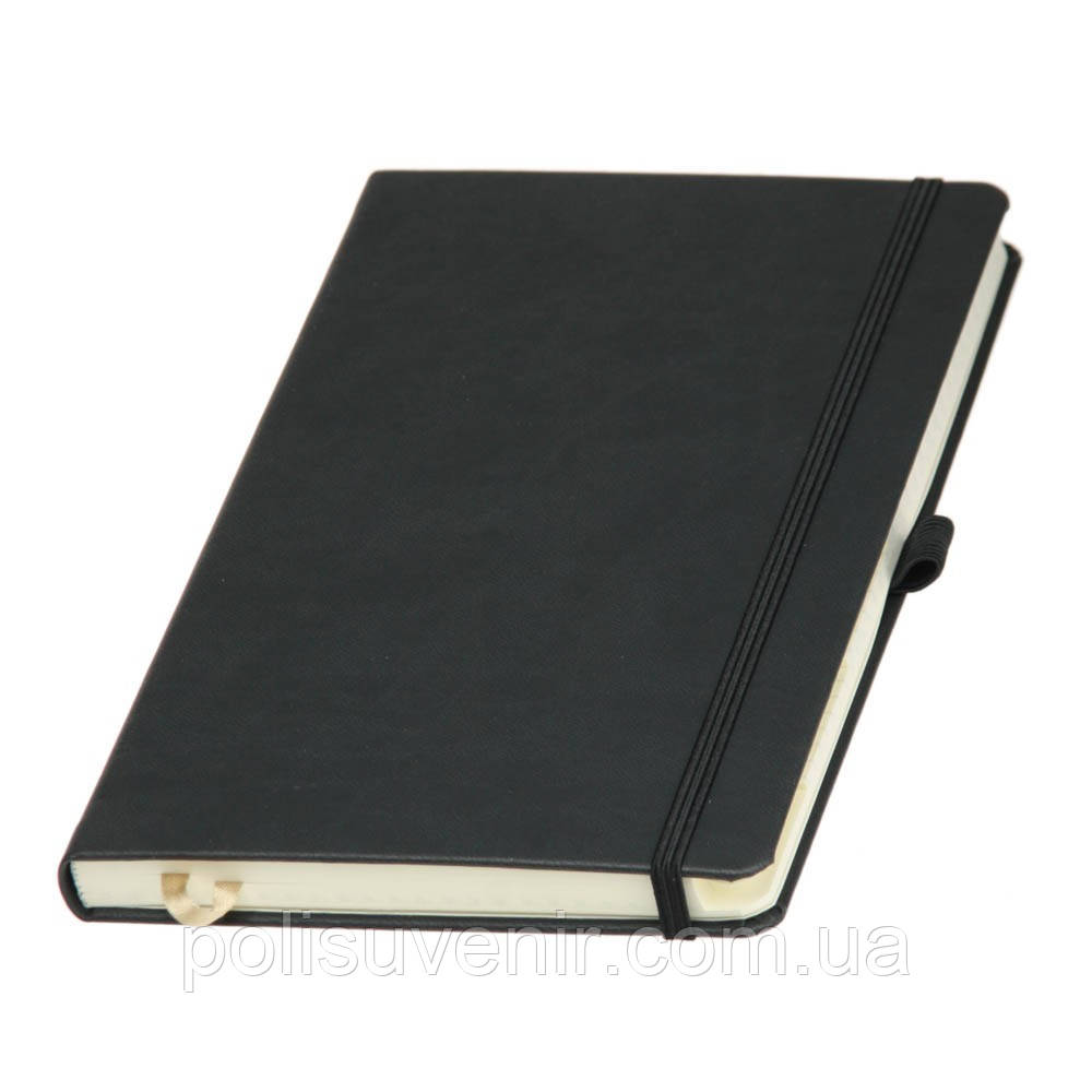 Записная книжка А5 на резинці матова обкладинка
