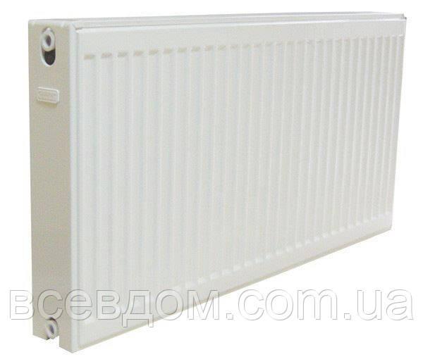Стальные радиаторы  DJOUL 22 тип боковое подключение 300х400