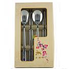 Металлические палочки для еды «Иероглиф», фото 2