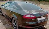 Дефлекторы окон, ветровики Тёмного цвета для Ford Mondeo 2007-2014, фото 2