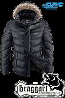 Куртка зимняя мужская на меху Braggart  Aggressive -  1882M графит