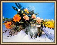 Картина Свадебный букет-2. 300х400мм. №668