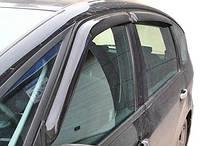 Дефлекторы окон, ветровики на 4 двери. Темные  для Ford S-Max 2007- EGR