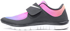 Женские кроссовки Nike Free Socfly Black/Pink, найк сокфлай