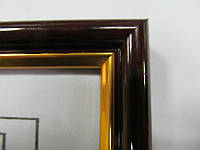 Фоторамка настенная пластиковая багет (25x38) (ящ16)