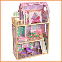 Дом для кукол KidKraft Ava кукольный дом с мебелью 65900