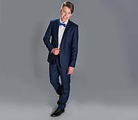 Синий костюм для мальчика